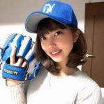 笹川萌【OL野球女子】のWiki!会社はどこ?ゴルフも上手い!